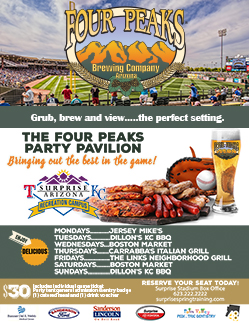 Four Peaks Party Pavilion Flyer