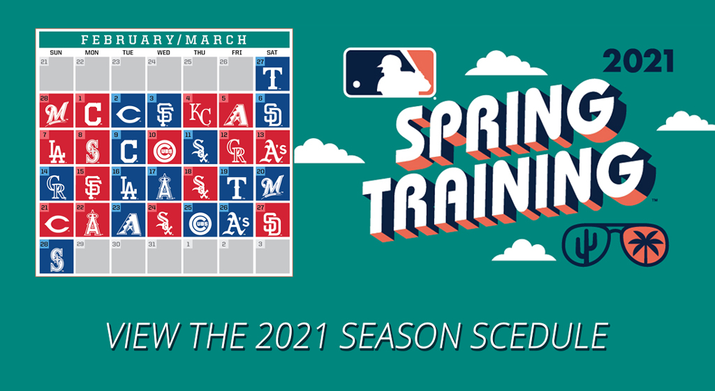 2021 Spring Training Schedule Download